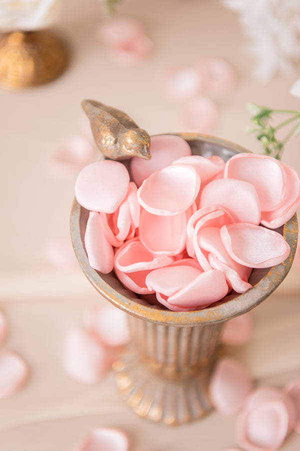 Handmade Silk Rose Petals - 23 Colors