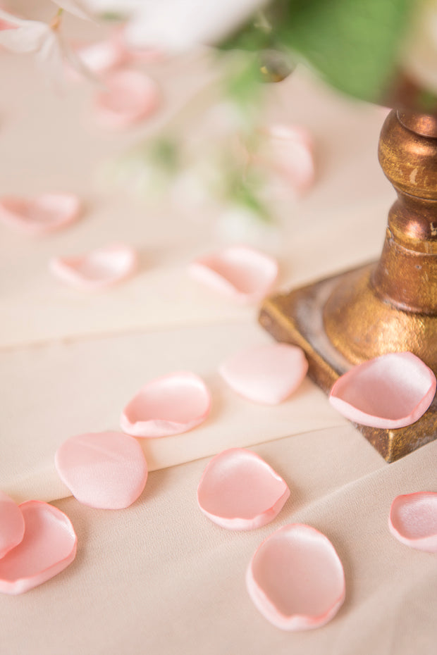 Silk Rose Petals - Blush Pink