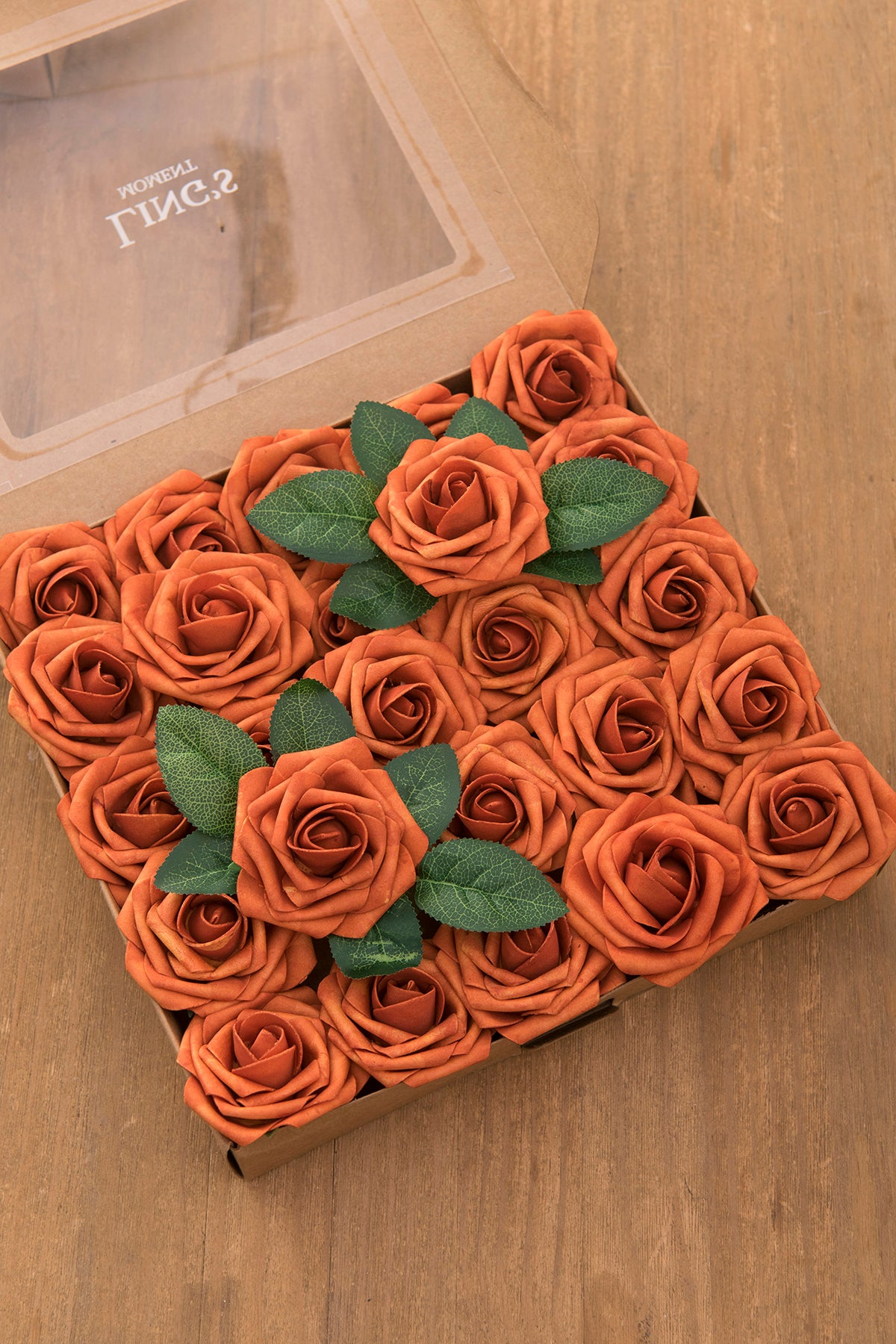 Foam Rose with Stem 25/50pcs - 33 Colors - Ling's moment