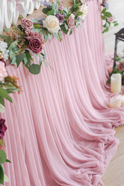 Extra Long Pooling Table Skirt - 6 Colors