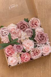 Blush & Pink Flowers Box Set - 14 Styles