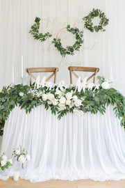 Eucalyptus and Willow Leaf Greenery Garland 6.5FT