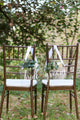 Acrylic Wedding Chair Signs - Mr&Mrs / Bride&Groom