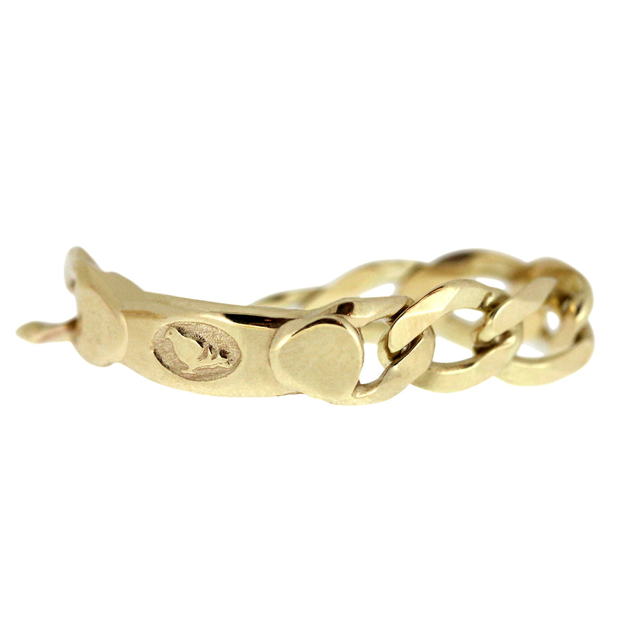 Fine Chain Ring - Gold
