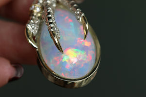 The Mother of Opal Teardrops