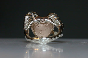 Otis Wolf and Dee's Ashes Ring - for Imogen