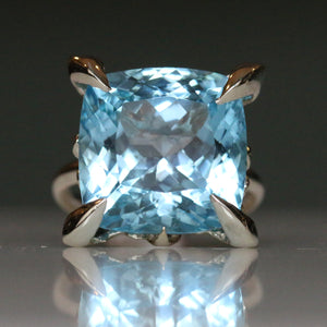 Topaz Lollipop Ring