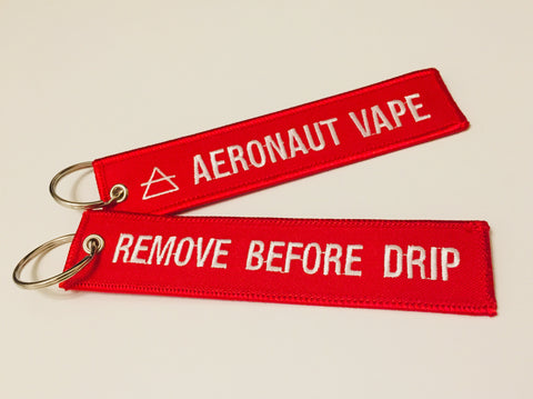 """REMOVE BEFORE DRIP"" custom keychain (x1)"