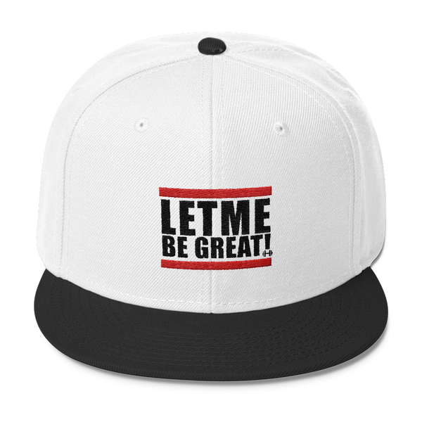 Let Me Be Great Snapback