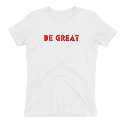Ladies' Be Great - American Flag - Best Fit Apparel