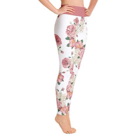 Floral Print Leggings - Best Fit Apparel