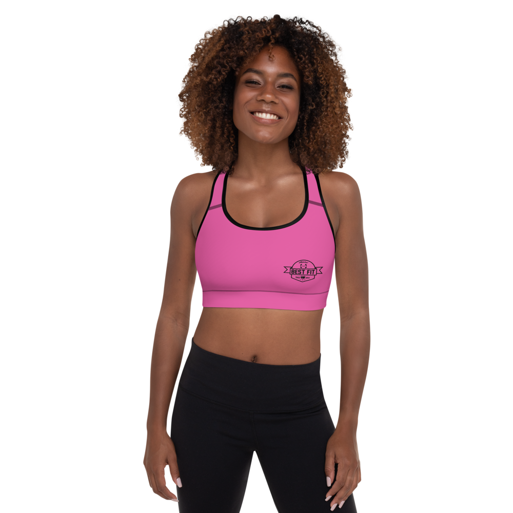 Best Fit Logo - Sports Bra