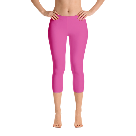 Best Fit in Pink Capri