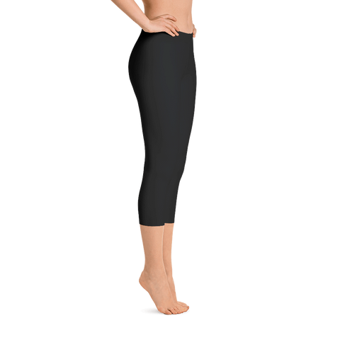 Plain Black Capri - Best Fit Apparel