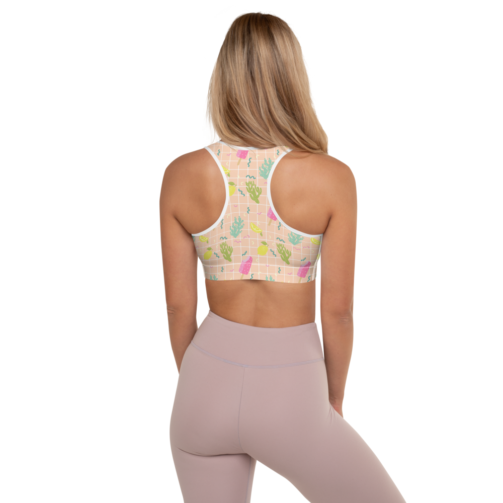 We All Scream for Ice Cream - Sports Bra