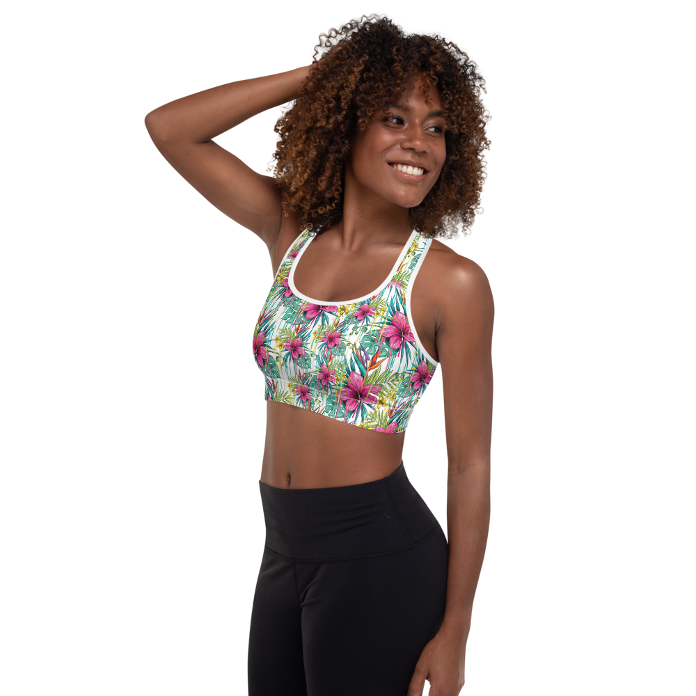 Flower Power - Sports Bra