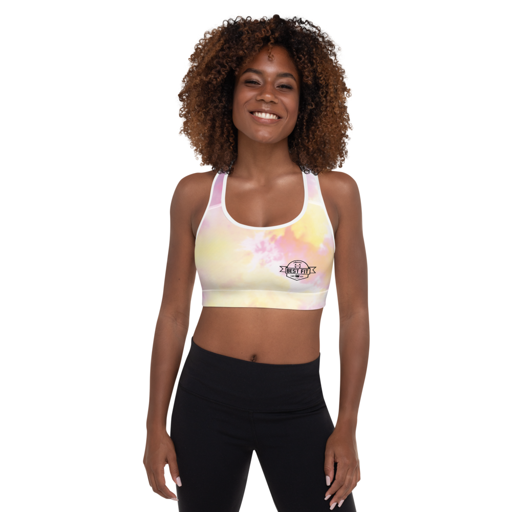 Best Fit Logo Tie-Dye - Padded Sports Bra