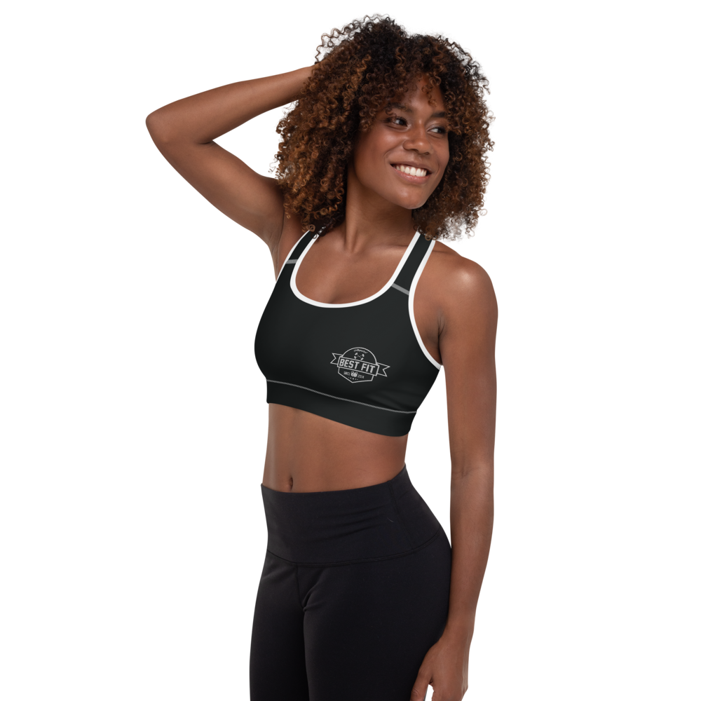 Best Fit Logo - Padded Sports Bra