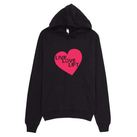 Live Love Lift Hoodie - Best Fit Apparel