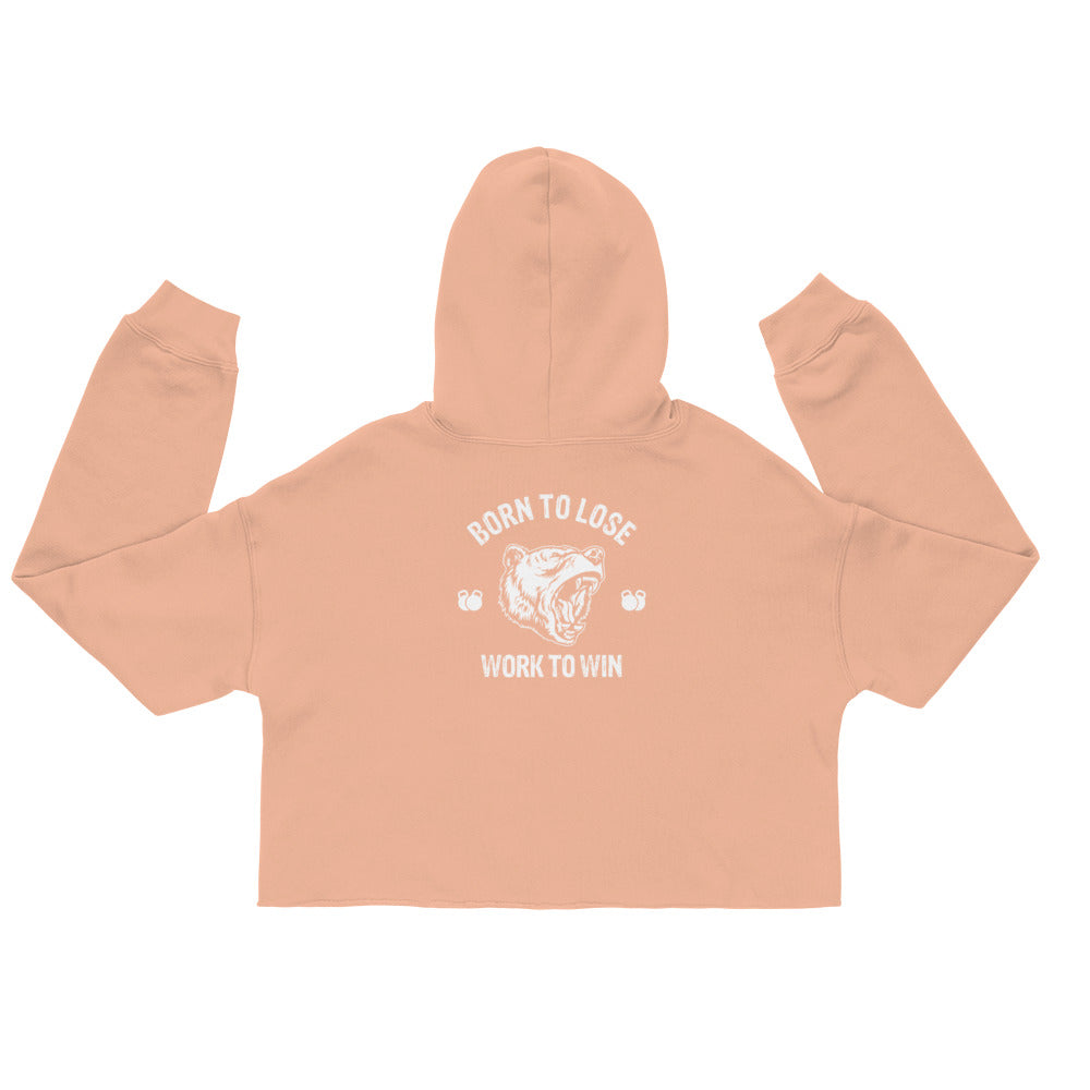 Born to Lose - Crop Hoodie