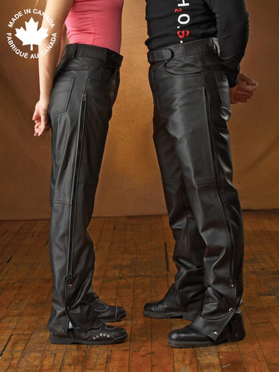 #23277 Ladies Leather Pant 6 Pants