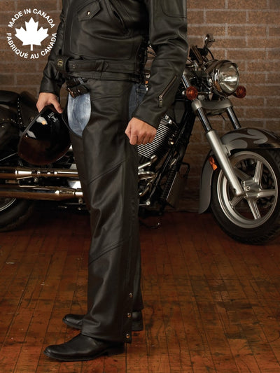 #3359 Mens Leather Chap Small Chaps