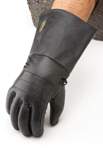 #305 Men's Lined Leather Gauntlet