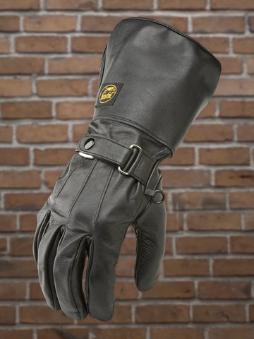 #307 Men's Leather Gauntlet Glove