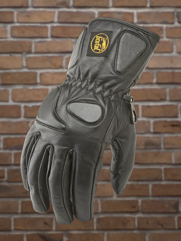 #312 Men's Leather Riding Glove w/Kevlar