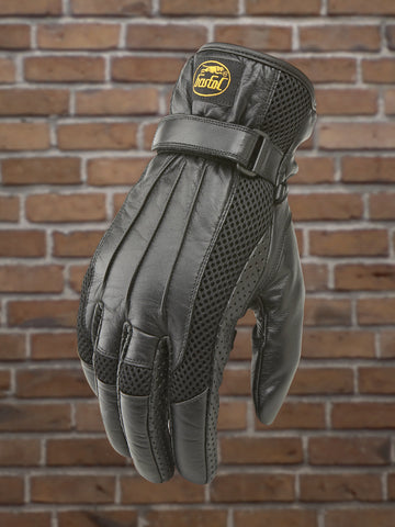 #326 Men's Leather & Mesh Riding Glove