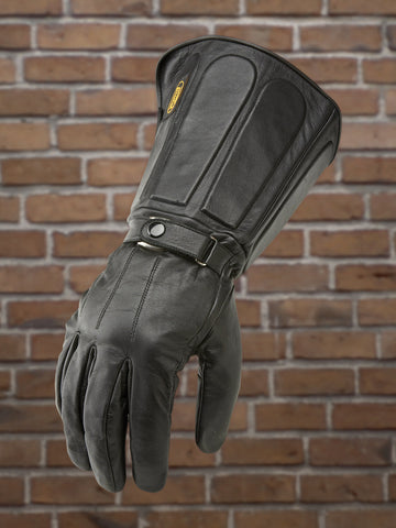 #327 Men's Leather Gauntlet Glove