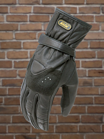 #502 Ladies Suede Grip Leather Riding Glove