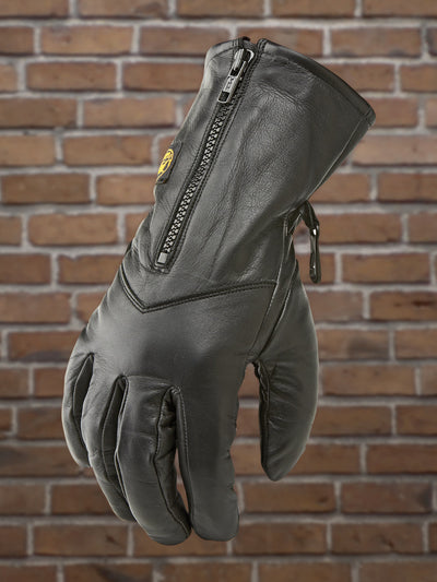 #25071 Ladies Zip Front Leather Riding Glove