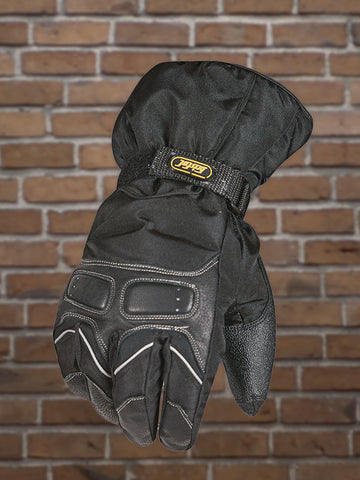 #333 Men's Waterproof Textile & Leather Riding Glove