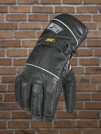 #337 Men's Wateproof Textile & Leather Gauntlet Glove