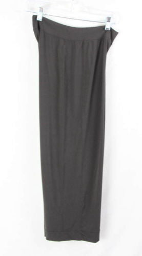 CAbi Capri Pants M size New Brown Stretch Womens Easy Wear Comfort All Season - Jamies Closet - 1