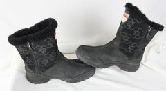The North Face Boots Black size 10 Womens Side Zip Premaloft Insulated Winter
