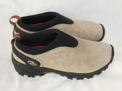 Merrell Satellite Moc Classic Beige Suede Womens size 9 Taupe Brown Lightweight - Jamies Closet - 6