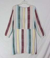 Cute New Anthropologie Rails M sz Tunic Top Dress Pink Multi Color