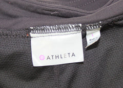 Nice Athleta Skort L size Black Stretch Skirt Short Womens Outdoor Athletic