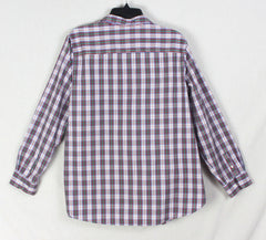 The Perfect Weekend shirt By LL Bean Pink Plaid L size Womens Cotton Soft Easy Wear Shirt - Jamies Closet - 8