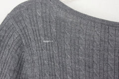 New Brooks Brothers L size Cable Sweater Light Fine Merino Wool