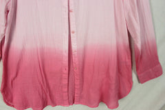 Pretty New Chadiwick Blouse 1x size Pink Ombre Lightweight Womens Top