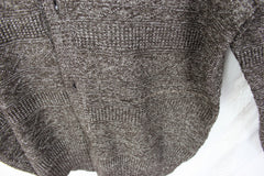 Club Room Cardigan Sweater L size Mens Brown Button Front Cotton Blend Comfort - Jamies Closet - 2