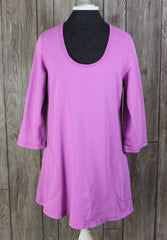 Cute CMC Color Me Cotton Tunic Top S M size Pink