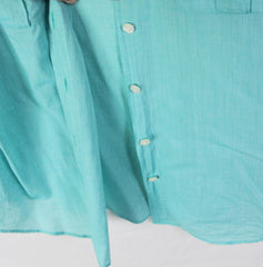 Nice J Crew XL size Blouse Light Blue Lightweight Casual Comfortable Perfect Shirt - Jamies Closet - 6