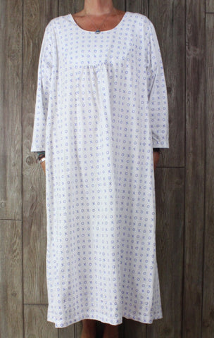Fine and Fancy Lingerie San Francisco Nightgown House Dress L XL size