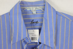 New Foxcroft Blouse 14w Size French Blue Wrinkle Free