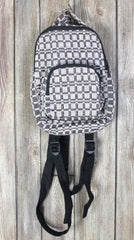 Cute El Hurache Cotton Backpack Small Brown Gray Black Casual Weekend