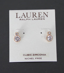 Pretty New Lauren Ralph Lauren Cubic Zirconia Post Earring